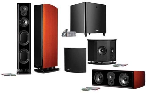 Polk Audio LSiM707 5.1 Home Theater System