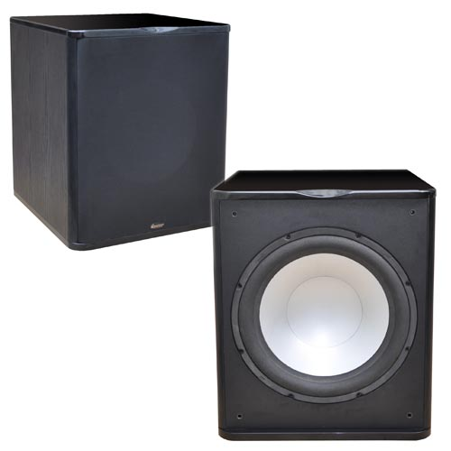 Premier Acoustic PA-150 1000 Watt Powered Subwoofer BLK
