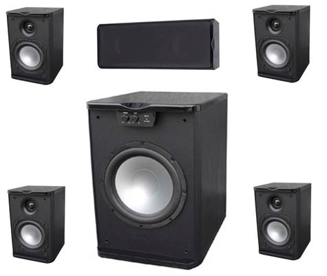 Premier Acoustic - Monitor 4.0 Home Theater System