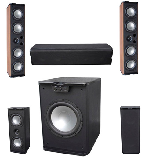 Premier Acoustic - Monitor 4.4 Home Theater System