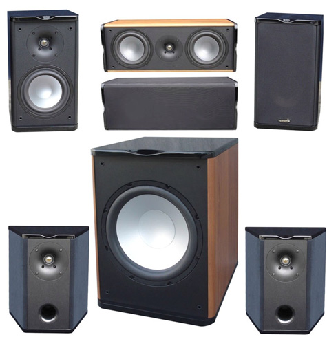 Premier Acoustic PA-6B Theater System