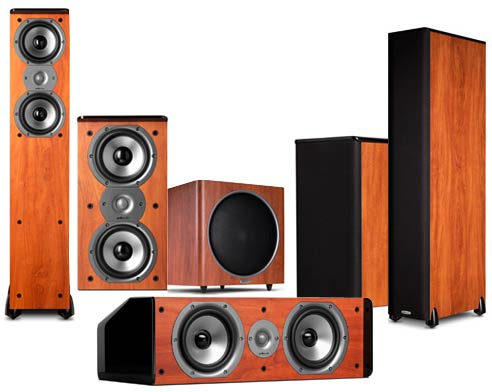 POLK AUDIO TSi300 Home Theater System