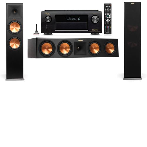 Klipsch RP-280F Tower Speakers-3.0-Denon AVR-X3200W