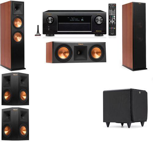 Klipsch RP-280F Tower Speakers CH-RP-250C-SDS12 -5.1-Denon AVR-X3200W