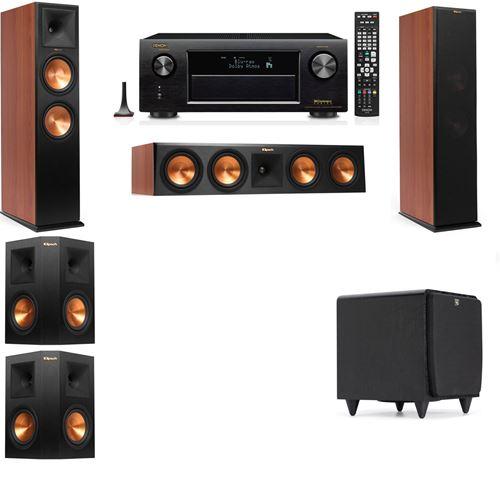 Klipsch RP-280F Tower Speakers CH-SDS12-5.1-Denon AVR-X3200W