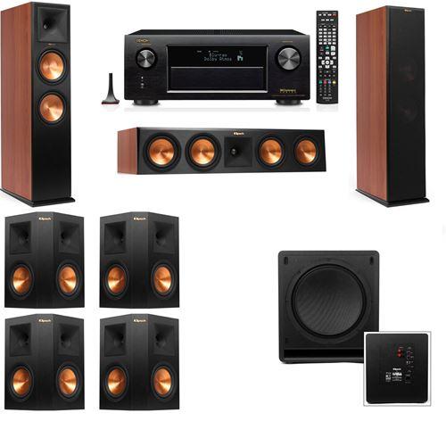 Klipsch RP-280F Tower Speakers CH-SW-112-7.1-Denon AVR-X3200W