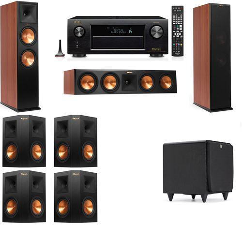 Klipsch RP-280F Tower Speakers CH-SDS12-7.1-Denon AVR-X3200W