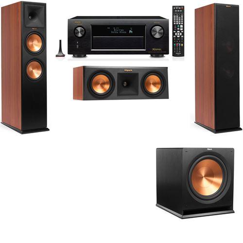 Klipsch RP-280F Tower Speakers CH-RP-250C-3.1-Denon AVR-X3200W