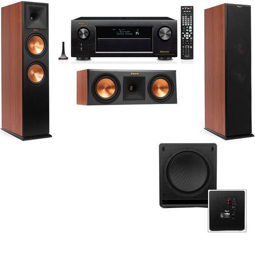 Klipsch RP-280F Tower Speakers CH-RP-250C-SW-112-3.1-Denon AVR-X3200W