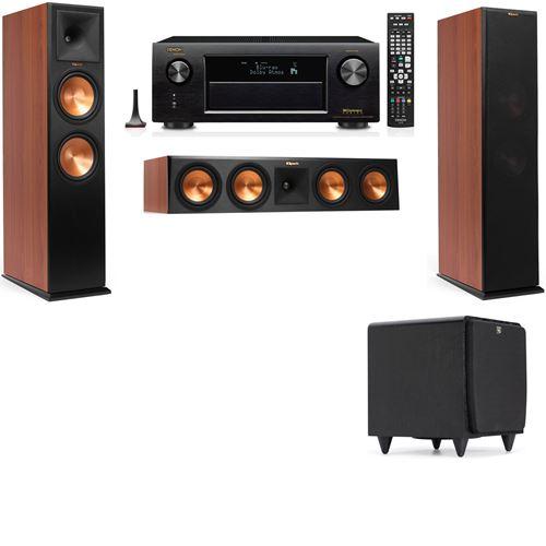 Klipsch RP-280F Tower Speakers CH-SDS12-3.1-Denon AVR-X3200W