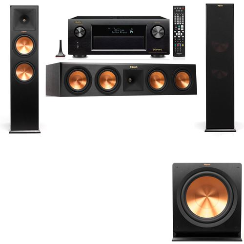 Klipsch RP-280F Tower Speakers-3.1-Denon AVR-X3200W