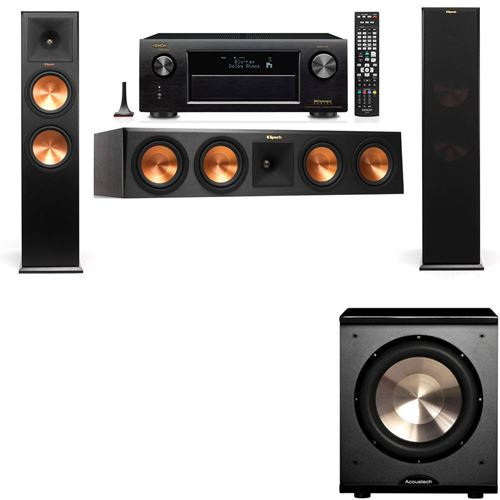 Klipsch RP-280F Tower Speakers-PL-200-3.1-Denon AVR-X3200W