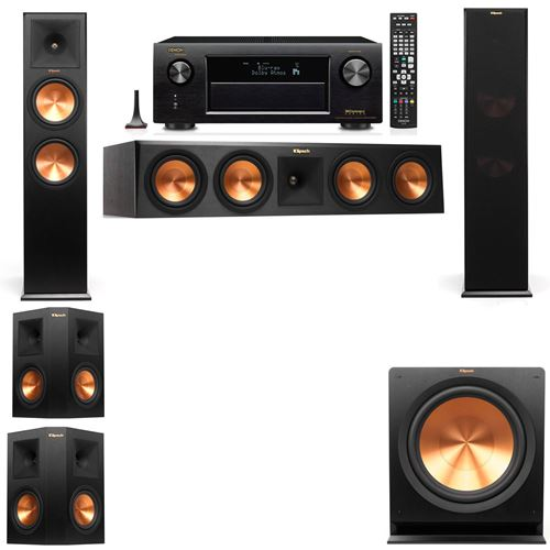 Klipsch RP-280F Tower Speakers-5.1-Denon AVR-X3200W