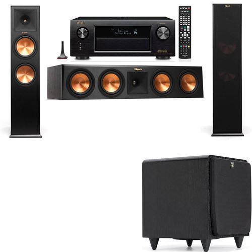 Klipsch RP-280F Tower Speakers-SDS12-3.1-Denon AVR-X3200W