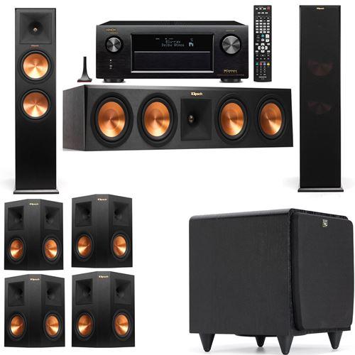 Klipsch RP-280F Tower Speakers-SDS12-7.1-Denon AVR-X3200W